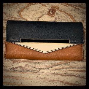 Handbags - Color Block Wallet